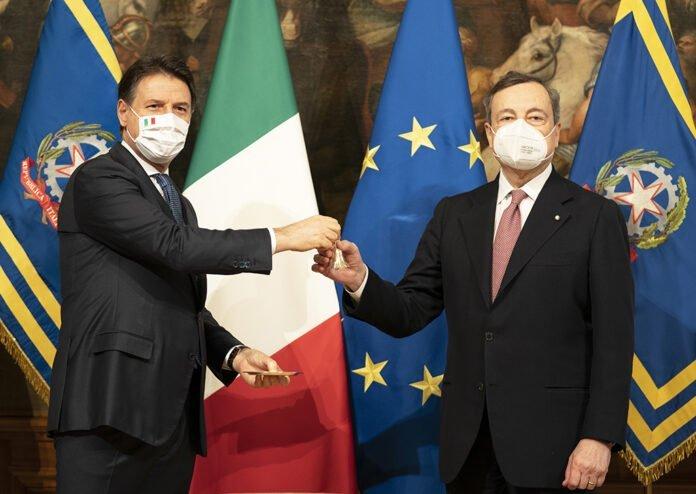 Passaggio consegne Conte Draghi