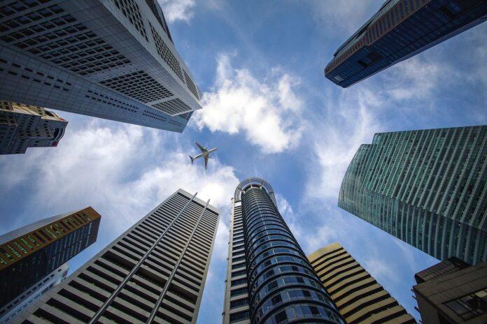 Grattacieli banca
