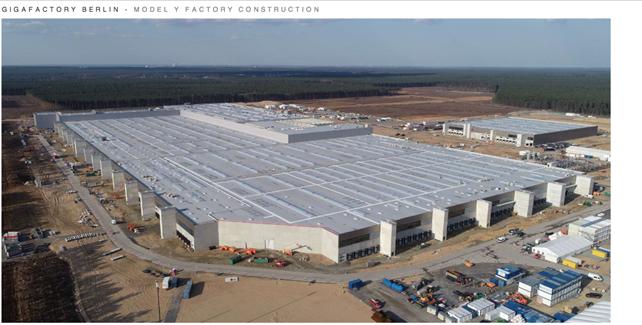 Gigafactory Tesla Berlino